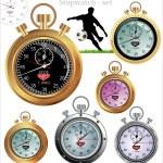 Vector stopwatch — Stock Vector