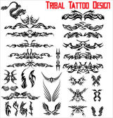 Tribal Tattoo Design - Set — Stock Vector