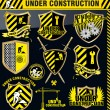 Under construction signs — Stock Vector #9524538
