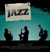 Jazz background — Stock Vector