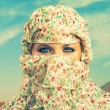 Foto Stock: Fashionable ladies - Bedouin