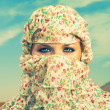 Stockfoto: Fashionable ladies - Bedouin