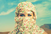 Fashionable ladies - Bedouin — Stock Photo