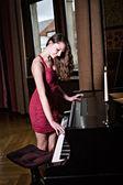 The Pianist — Стоковое фото