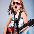 Stock Photo: Rock and Roll girl