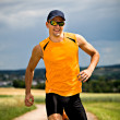 Jogging man - Stock Photo