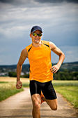 Jogging man — Stock Photo