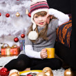 Xmas girl — Stock Photo #8136171