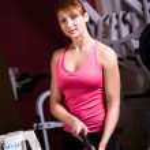 Gym girl — Stock Photo #8189520
