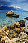 Adriatic coast — Stock fotografie
