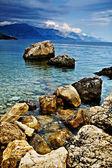Costa adriática — Foto de Stock