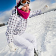 Snowboarding — Stock Photo #8533479