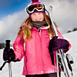 Ski alpin - Stock Photo