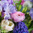 Bunch of spring flowers -  