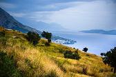 Adriatiska kusten — Stockfoto