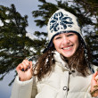 Winter portrait of a woman — Stock Photo #8719287