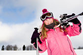 Ski — Stock Photo