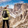 Hiking in Dolomite — Stock Photo #8847105