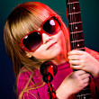 Rock and Roll girl — Stock Photo