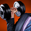 Stock Photo: Fitness and business