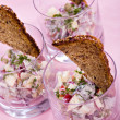 Herring salad - Stock Photo