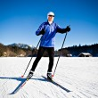 Cross-country skiing - Foto Stock