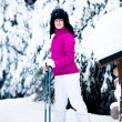 Winter portrait of a woman — Stock Photo #9115778
