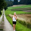 Jogging woman — Stock Photo #9194636