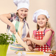 Little baker — Stock Photo