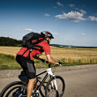 Cycling man — Stock Photo #9767125