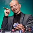 Poker player — Stock Photo #9909133