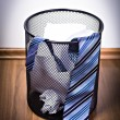 Stock Photo: Wastebasket