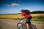 Cycling man — Stock Photo