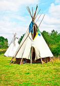 Wigwams — Stock Photo
