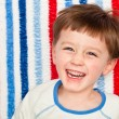 Stock Photo: Laughing child