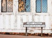 Lavenham street — Stock Photo