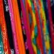 Merchandise in a mexican traditional market in the caribbean. Shallow depth of field — Stock Photo #9026510
