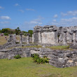 Stock Photo: Tulum ruins