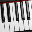 Piano keys - Stock Photo