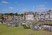 Tulum ruins — Stock Photo