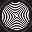 Hypnotic spiral — Stock Vector