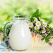 Milk jug — Stock Photo #10682576