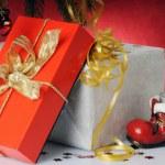 Christmas presents — Stock Photo #8055609