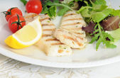 Grilled fish — Stock Photo