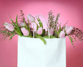 Spring shopping — Stockfoto