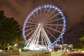 Brisbane City - Southbank At Night - Queensland - Australia — Stock Photo