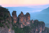 Three Sisters - Blue Mountains - Australia — Stock Photo