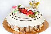 A Christmas Cake — Stock Photo