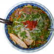Stock Photo: Vietnamese Spicy Beef Noodle (Bun Bo Hue)