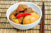 Vietnamese Pork Stew with Hard Boiled Egg — Stock Photo